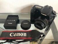 Canon EOS 30D 8.2MP Digital SLR Camera + 50mm f/1.8 II Lens + 2GB SD Card - Great Camera!