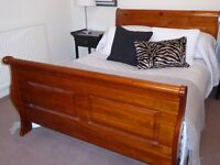 Sleigh Bed Double Bed Base