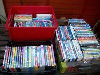 Large Lot Childrens DVD's 110Plus Some Disney etc