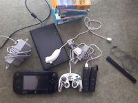 Wii U 32gb bundle with 10 games
