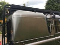 Land Rover Defender 110 Patriot roof rack and ladders