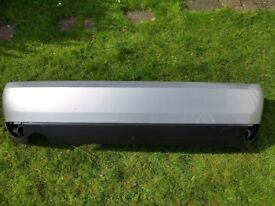 Ford Focus MK1 Rear Bumper in Moondust Silver - used condition with some marks