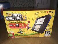 Brand New 2DS console Pre installed Super Mario Bros