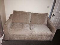 Double velvet Sofa