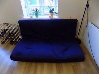 3 Seats Futon sofa bed
