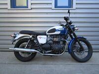 Triumph Bonneville T100 - Special Johnny Allen Edition