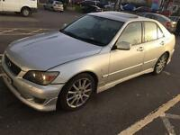 54 Lexus is200 auto 2.0 petrol full black leather long mot Hpi Clear top spec may deliver cheap car