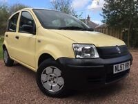 *12 MONTHS WARRANTY*2007(57)FIAT PANDA 1.2 ACTIVE 5DR VERY LOW MILES ONLY 40K-GREAT VALUE*