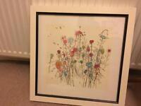 Flowers Painting Print - Moose