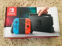 Neon Nintendo Switch Handheld Console - NO OFFERS