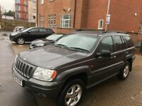 Jeep Grand Cherokee 2003 2.7 CRD OVERLAND ** AUTOMATIC ** 2 KEYS ** 12 MONTH MOT ** DRIVES LIKE NEW