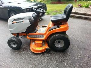lawn tractor with 42inch snow blower