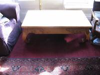 Beautiful Large Rosewood Coffee Table
