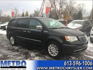 2013 Chrysler Town & Country Limited-SUNROOF +Every other option
