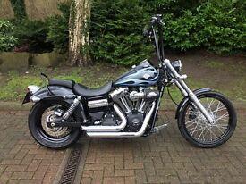 Harley-Davidson Dyna Wide Glide, Apes + Stage 1