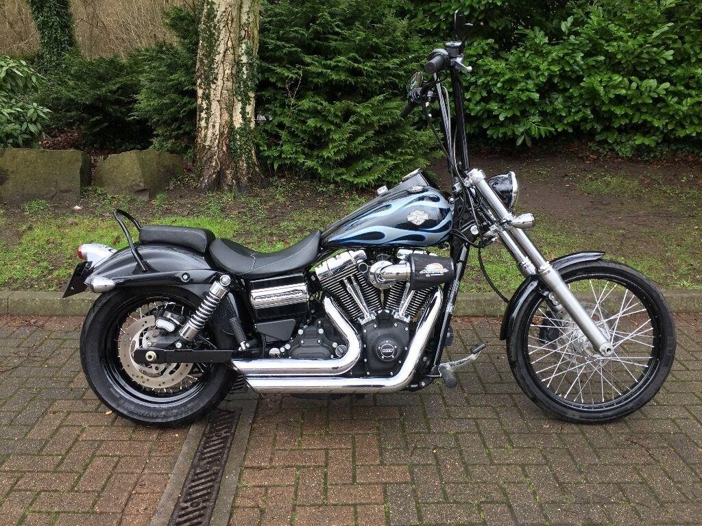 Harley-Davidson Dyna Wide Glide, Apes + Stage 1 | in ...