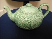 Wedgewood cabbage teapot