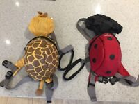 Backpacks with reins for toddles