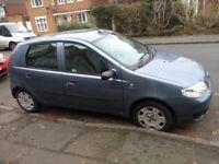 Fiat Punto 1.2 8v Active 2004 5dr 12 Month MOT, lady owner