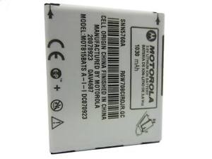 NEW GENUINE MOTOROLA SNN5760A SNN5760 3.6V BATTERY FOR E815 E816 V710 CELL PHONE