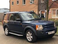 Landrover discovery 3 2.7 HSE..7 seater..Top spec