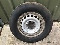 Mercedes Sprinter / VW Crafter 2006-2015 Steel Wheel Rim & Tyre 235/65R16C