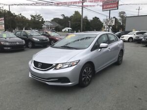2015 Honda Civic EX ($133 bw/ w/ $0 down, OAC)