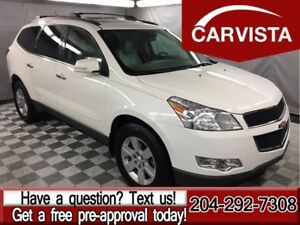 2010 Chevrolet Traverse 2LT AWD -LEATHER/SUNROOF-