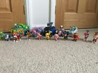 Large paw patrol collection!