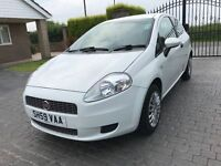 \\\ 59 REG FIAT GRANDE PUNTO ACTIVE \\\ ONLY 56K \\\ IMMACULATE DIAMOND WHITE £2499