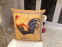 Brand new cockerel / chicken cushion. Never used.