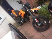 Ksr moto 125 motorbike