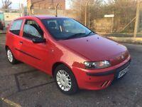 2002 Fiat punto with MOT till March 2018.