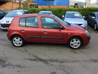 FULL SERVICE HISTORY+CLIO 1.2 DYNAMIQUE 5 DOOR