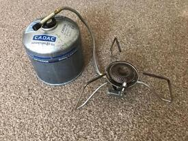 Trakker stove and gas