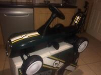 New kids retro go cart