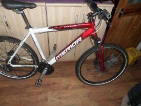 Merida matts sub 50 bike