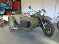 EVOLUTION MOTOR WORKS - Lurgan - 1972 Dnepr 650 - £3199. Meticulously maintained, military spec.