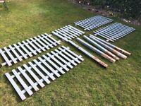 Free 90cm high garden fencing