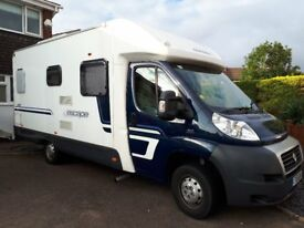 Swift Escape 664. Lovely 4 berth with Central dinette and rear fixed double bed