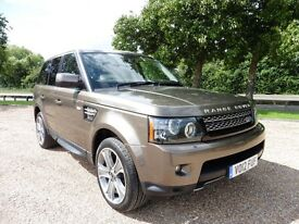 Land Rover Range Rover Sport 5.0 Supercharged V8 HSE Automatic (nara bronze pearl) 2012