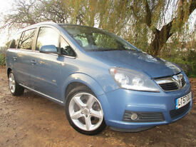 2007 57 ZAFIRA SRI 1.9 CDTI *KEYLESS* *SPORT BUTTON* VAUXHALL 7 SEATS FORD S MAX GALAXY