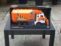 Toy Lorry Bin Garbage Truck Childrens Toy Electronic Lights & Sounds New in Box