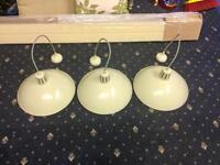 3 pendant lights