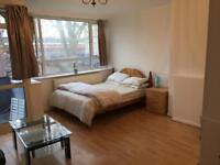 Xl double room for rent with shower and balcony On Old Kent Road Se1
