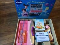 Vtech smile motion active learning system with 2 games