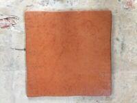 Terracotta Floor Tiles 5 sq.m - 46 x 33.3cm x 33.3cm tiles