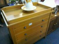 Nursery changing unit with drawers #32422 £65