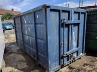 5 x Roll On / Off Containers / Skips / Bins for sell - HL5 converted for Tipp Link
