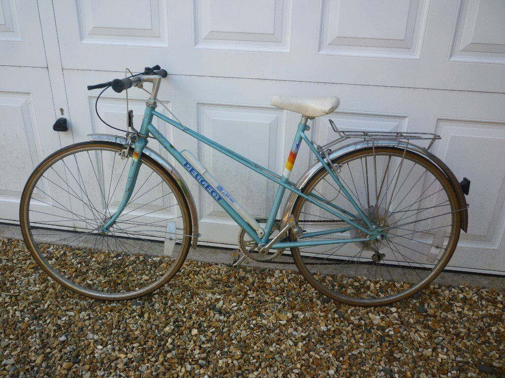 ladies bicycle - peugeot riviera | in church stretton, shropshire